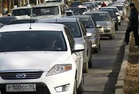 «Пробки» на краснодарских дорогах
