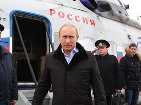 Владимир Путин посетил Крымск