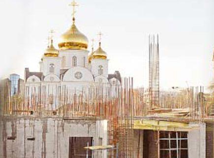 Строительство здания Краснодарского краевого суда