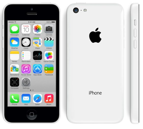 Мобильный телефон Apple iPhone 5c 32GB White UACRF. Фото 1