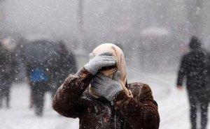 В Адыгею идут снегопады