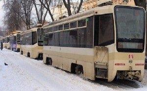 В Ростове-на-Дону арестовали трамваи