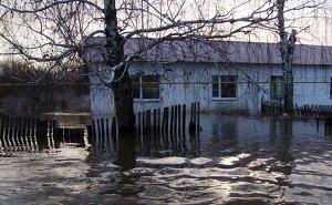В Элисте из-за подтопления домов ввели режим особой готовности