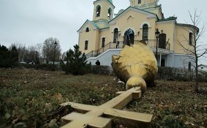 Золотую церковь Астрахани разобрали ради ресторана