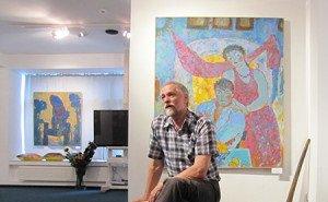 В Майкопе проходит выставка культового художника Алексея Паршкова