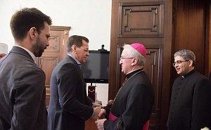 Жилкин принял посланника Ватикана