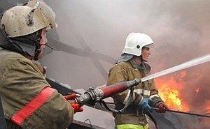 Названа основная версия причины масштабного пожара в центре Ростова