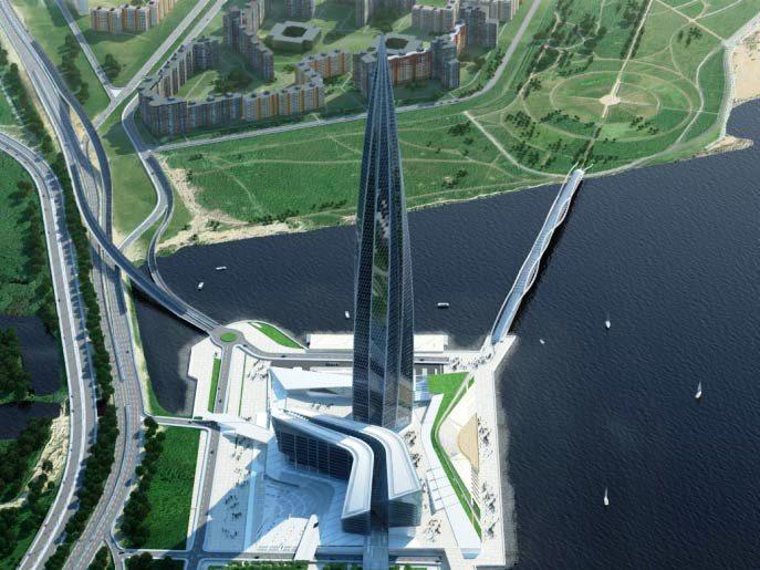Конструкции самого высокого небоскреба в Европе будет защищать от коррозии технология портфельной компании РОСНАНО