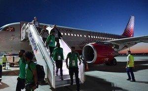 Перевозчик подтвердил факт возгорания самолёта со сборной Саудовской Аравии, летевшей в Ростов