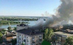 У фан-зоны в Ростове на месте пожара ввели режим ЧС