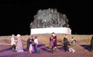 Опера «Калмычка» вновь собрала массу зрителей