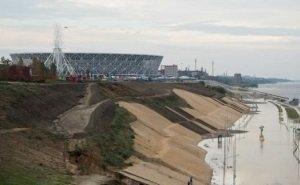 «Волгоград-Арену» снова подтопило