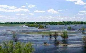 В Волгоградской области возводят сооружения для задержки паводковых вод