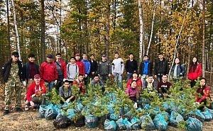 Калмыкия присоединилась к акции «Сохраним лес»