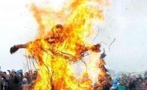 В Волгограде сожгут чучело самой высокой Масленицы в России