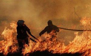 В Ростове во время пожара погиб сотрудник МЧС