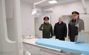 Военный медцентр в Ростове построят за 2 месяца