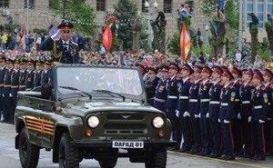 В Волгограде готовятся к Параду Победы