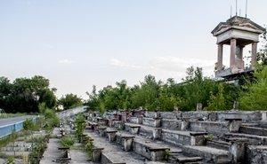 Снос колоннады на стадионе «Монолит» волгоградцы назвали «циничным»