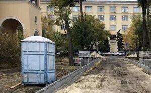 Волгоградцы по факту исчезновения гранитных бордюров написали заявление в полицию