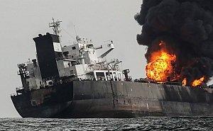 После взрыва танкера загрязнений в акватории Азовского моря не выявлено