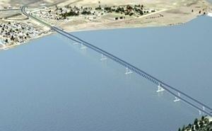Третий мост через Волгу в Астрахани начнут строить в 2022 году