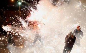 В новогоднюю ночь в Астрахани без ЧП не обошлось