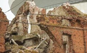 В Волгограде обрушилась мельница Гергардта