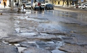 Жители Майкопа недовольны качеством ремонта дорог