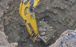 В Волгограде проводятся «странные раскопки» на берегу Мокрой Мечётки