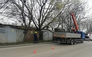 Краснодар очистят от бетонных столбов