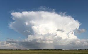 В Адыгее против градовых облаков применят ракеты