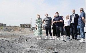 В Волгоградской области вновь подняли проблему «белого моря» «Химпрома»