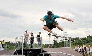 На Центральной набережной Волгограда разбирают скейт-парк
