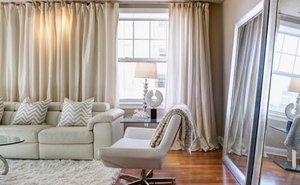 Как правильно подобрать шторы для гостиной