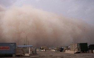 Учёные назвали причину пыльных бурь в Астрахани