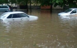 После ливня Ростов в очередной раз затопило