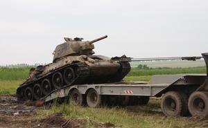 В Волгограде посреди мусора нашли... танк