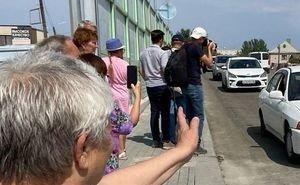 В Астрахани открыли Милицейский мост