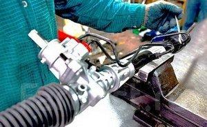 Этапы ремонта рулевых реек