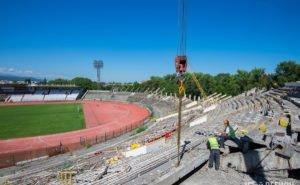 В Волгограде начался снос легендарного стадиона «Трактор»