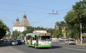 В Астрахань могут вернуть троллейбусы