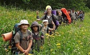 Астраханская область возрождает детский туризм